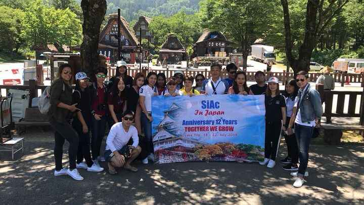TripoutJapan#Siac#Happy Anniversary 12th Years