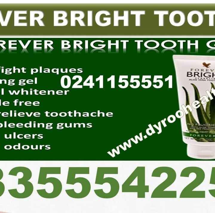 Forever Bright Tooth Gel In Ghana updated their business hours.