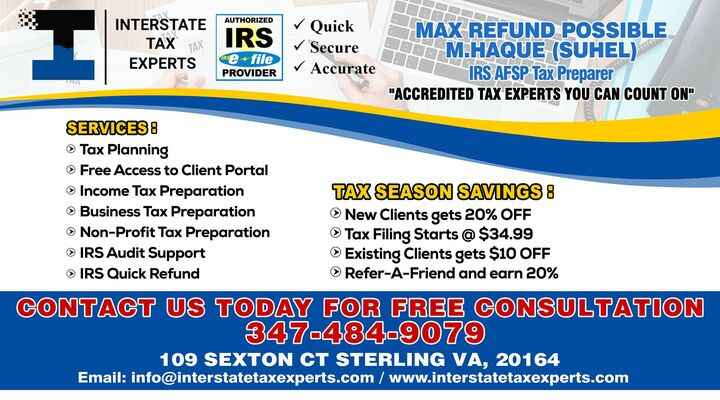 Photos from Interstate Tax Experts's post